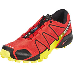 Salomon M's Speedcross 4 Shoes Radiant Red/Black/Corona Yellow